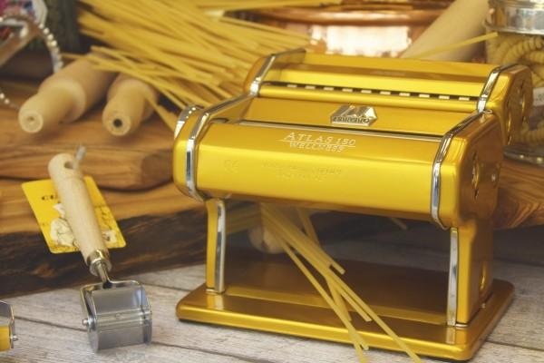 manuelle Nudelmaschinen - hier eine Marcato Atlas 150 wellness