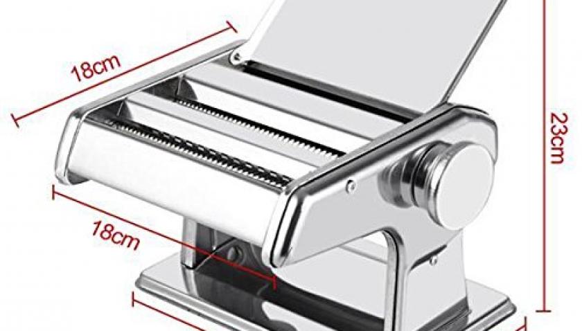 Popamazing 3 in 1 Edelstahl Nudelmaschine